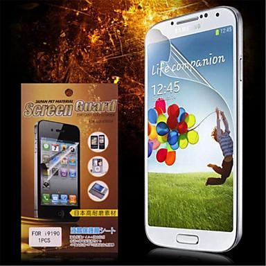 Ekran Koruyucu için Samsung Galaxy S4 Mini PET Ön Ekran Koruyucu Yüksek Tanımlama (HD)