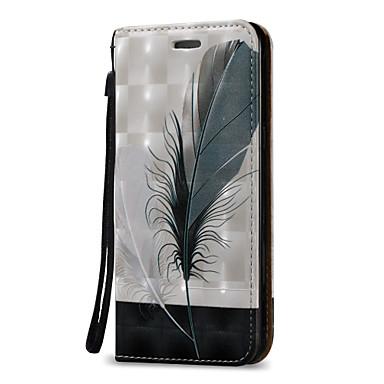 Kılıf Na Samsung Galaxy J7 (2016) J5 (2016) Etui na karty Portfel Flip Pełne etui Pióra Twarde Skóra PU na On 5 J7 (2016) J7 J5 (2016) J5