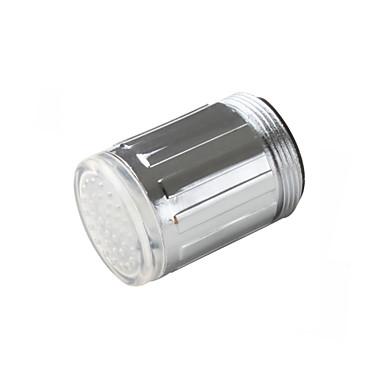 Single Handle hőmérséklet-szabályozott érzékelő LED csaptelep