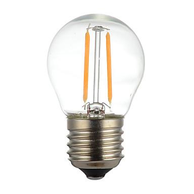 1 قطع 2 واط e14 b22 e26 / e27 أدى خيوط لمبات g45 2 المصابيح كوب عكس الضوء الزخرفية الدافئة الأبيض 150-200lm 2300-2700 كيلو أس 110 فولت ac22v
