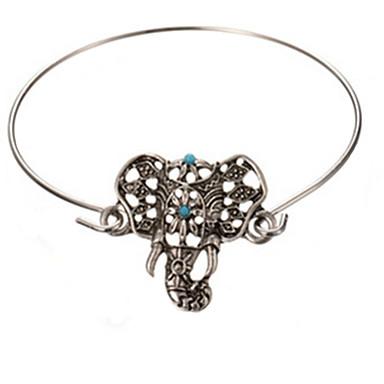 Γυναικεία Βραχιόλια Στυλ Λαογραφικό Κράμα Ελέφαντας Ζώο Κοσμήματα Πάρτι