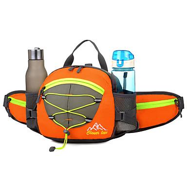 15 L rucsac Umăr Bag Pachete de Talie Camping & Drumeții Ciclism / Bicicletă Jogging Alergat Voiaj Impermeabil Reflexiv Fermoar