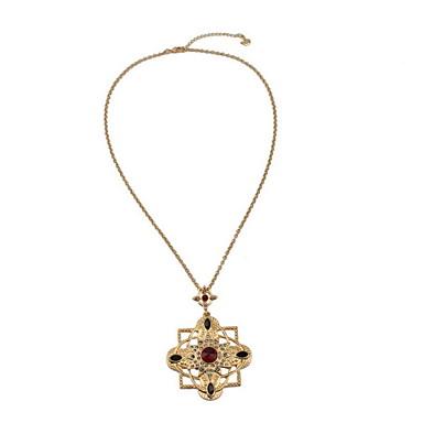 Γυναικεία Κρεμαστά Κολιέ Flower Shape Κράμα Φλοράλ Κοσμήματα Για Καθημερινά Causal