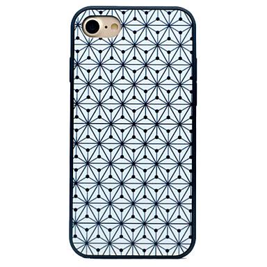 Etui Käyttötarkoitus Apple iPhone 7 iPhone 7 Plus iPhone 6 Iskunkestävä Kuvio Takakuori Geometrinen printti Kova Silikoni varten iPhone 7