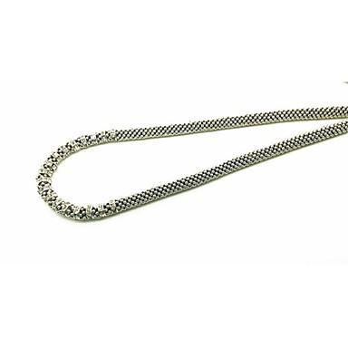 Damskie Naszyjniki choker Rhinestone Pojedynczy Strand Płatek śniegu Kryształ górski Stop Modny euroamerykańskiej Biżuteria Na Impreza