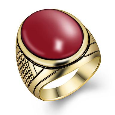 Ανδρικά Δαχτυλίδι Μοντέρνα Ρητίνη Κράμα Κοσμήματα Για Πάρτι Καθημερινά Causal Αθλητικά