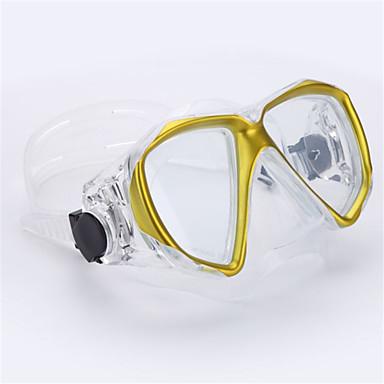 Dalış Maskeleri Yüzme Gözlüğü Yüz Maskesi Gözlüğü Yüzme Dalış ve Şnorkel Cam-THENICE