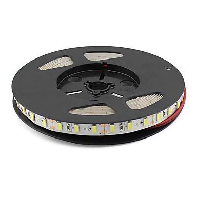 Esnek LED Şerit Işıklar 300 LED'ler Sıcak Beyaz Beyaz Yeşil Mavi Kırmızı DC 12V