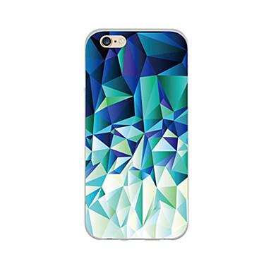 Capinha Para iPhone 6 iPhone 6 Plus Ultra-Fina Estampada Capa Traseira Estampa Geométrica Macia TPU para iPhone 6s Plus iPhone 6 Plus
