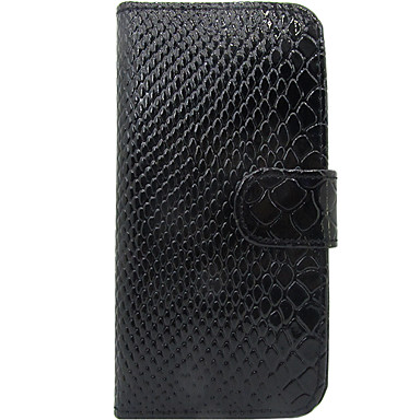 Pentru Titluar Card Întoarce Maska Corp Plin Maska Linii / Valuri Greu PU piele pentru Samsung S3