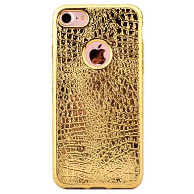 Varten Ultraohut Kuvio Etui Takakuori Etui Yksivärinen Pehmeä TPU varten Apple iPhone 7 Plus iPhone 7 iPhone 6s Plus/6 Plus iPhone 6s/6