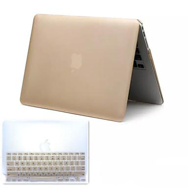 best verkopende metalen stijl pvc harde full body case en TPU toetsenbord cover voor MacBook Pro 13,3 inch (verschillende kleuren)