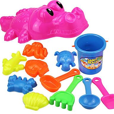 Zabawy w odgrywanie ról Zabawka do piaskownicy Zabawki plażowe Zabawki Rybki Skóra krokodyla Zabawne Dla chłopców Dla dziewczynek 12 Sztuk