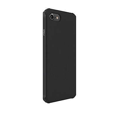 Pouzdro Uyumluluk Apple iPhone 8 iPhone 8 Plus iPhone 6 iPhone 7 Plus iPhone 7 Şoka Dayanıklı Arka Kapak Tek Renk Yumuşak Silikon için