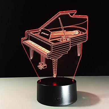 1 Stück Nächtliche Beleuchtung Fernbedienungskontrolle Nachtsicht Größe S Farbwechsel Künstlerisch LED Modern / Zeitgenössisch