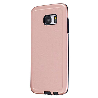 Kılıf Na Samsung Galaxy S7 edge S7 Odporne na kurz Etui na tył Solid Color Twarde Silikon na S7 edge S7 S6 edge S6
