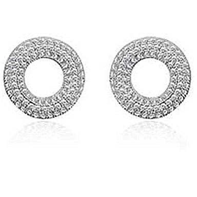 Γυναικεία Κουμπωτά Σκουλαρίκια Ασήμι Στερλίνας Κοσμήματα Για Πάρτι Causal