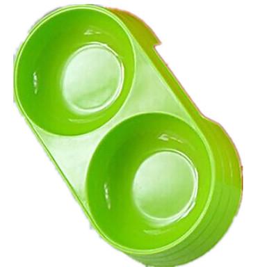 Γάτα Σκύλος Μπολ & Μπουκάλια Νερού Κατοικίδια Μπολ & Διατροφή Φορητό Πτυσσόμενο Πορτοκαλί Πράσινο Μπλε