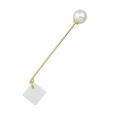 للمرأة دبابيس ذهبي مجوهرات فضفاض مجوهرات