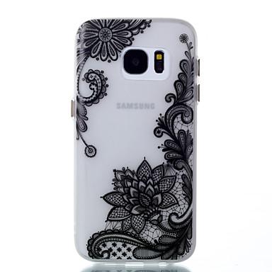 Käyttötarkoitus kotelot kuoret Hehkuu pimeässä Kuvio Takakuori Etui Kukka Pehmeä TPU varten Samsung Galaxy S8 S8 Plus S7 edge S7