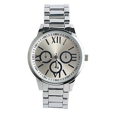 Bărbați Ceas La Modă Quartz / Aliaj Bandă Casual Argint Argintiu