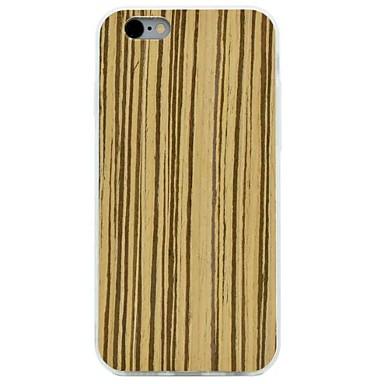 Için Şoka Dayanıklı Pouzdro Arka Kılıf Pouzdro Ağaç Damarları Sert Ahşap için AppleiPhone 7 Plus iPhone 7 iPhone 6s Plus/6 Plus iPhone