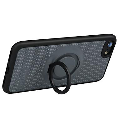 Varten Sormuksen pidike Etui Takakuori Etui Linjat / aallot Kova Silikoni varten Apple iPhone 7 Plus iPhone 7