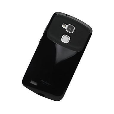 Na Etui Pokrowce Odporne na wstrząsy Etui na tył Kılıf Solid Color Twarde Poliuretan termoplastyczny na Huawei OPPO R9