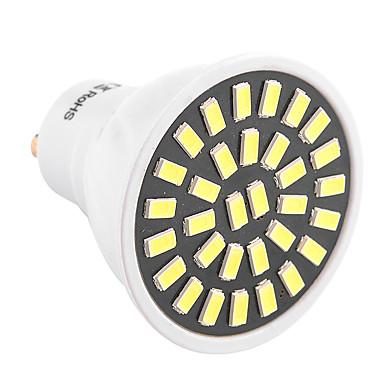ywxlight® gu10 led spotlight 32 smd 5733 500-700 lm lämmin valkoinen kylmä valkoinen koriste-ac 220-240 ac 110-130 v