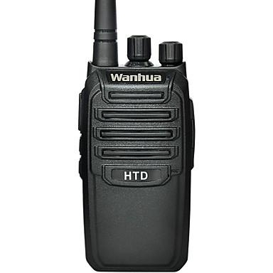 Wanhua HTD kannettavat radiopuhelintoiminto UHF 403-470mhz kaksisuuntainen radio