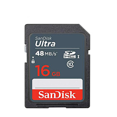 billige Hukommelseskort-SanDisk 16GB SD Kort hukommelseskort UHS-I U1 Class10 Ultra