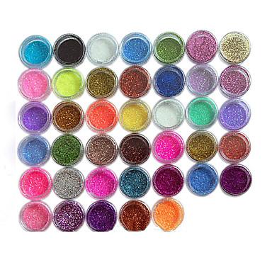 45pcs Nail Art Decoration tekojalokivi Pearls meikki Kosmeettiset Nail Art Design