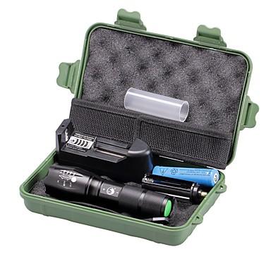 U'King Lanterne LED LED 2000 lm 5 Mod Cree XM-L T6 Cu Baterie și Încărcător Zoomable Focalizare Ajustabilă Intensitate Luminoasă