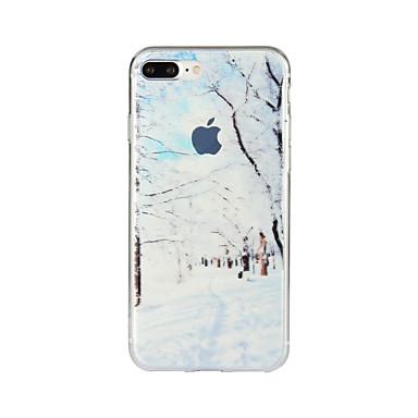 Na Wzór Kılıf Etui na tył Kılıf Krajobraz Miękkie TPU na Apple iPhone 7 Plus iPhone 7 iPhone 6s Plus/6 Plus iPhone 6s/6