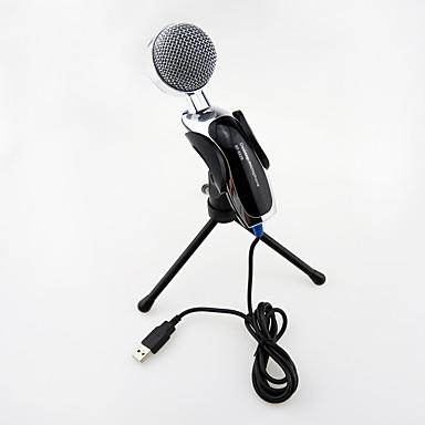 USB Μικρόφωνο Με Σύρμα Πυκνωτικό Μικρόφωνο Μικρόφωνο Χειρός Για Μικρόφωνο Καραόκε