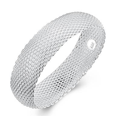 أساور قديم بوهيميان الصداقة مصنوع يدوي موضة بانغك هيب هوب تركي نحاس تصفيح بطلاء الفضة Circle Shape Geometric Shape غير منتظم مجوهرات