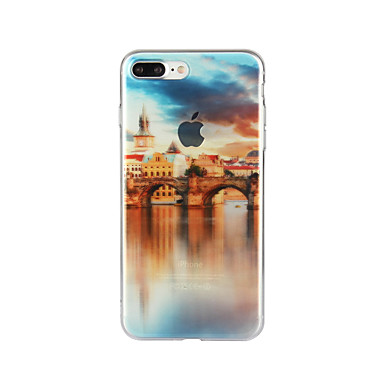 Na Wzór Kılıf Etui na tył Kılıf Krajobraz Miękkie TPU na Apple iPhone 7 Plus iPhone 7 iPhone 6s Plus/6 Plus iPhone 6s/6