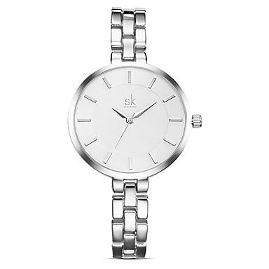 SK Bayanların Elbise Saat Moda Saat Quartz / Alaşım Bant Günlük Zarif Gümüş Altın Rengi Gül Altın
