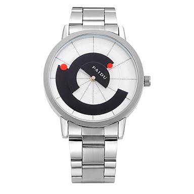 للرجال ساعة المعصم ساعة فستان ساعات فاشن ساعة رياضية كوارتز جلد طبيعي فرقة سحر كاجوال متعدد الألوان