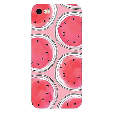 Για iPhone X iPhone 8 iPhone 7 iPhone 7 Plus iPhone 6 Θήκες Καλύμματα Εξαιρετικά λεπτή Με σχέδια Πίσω Κάλυμμα tok Φρούτα Μαλακή TPU για