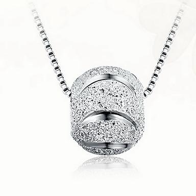 Μενταγιόν Ασήμι Στερλίνας Βασικό Μοναδικό Μοντέρνα Ασημί Κοσμήματα Καθημερινά 1pc