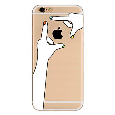 Pentru Ultra subțire Model Maska Carcasă Spate Maska Se joaca cu logo-ul Apple Moale TPU pentru AppleiPhone 7 Plus iPhone 7 iPhone 6s