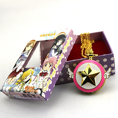 Zegar/zegarek Zainspirowany przez Puella Magi Madoka Magica Zen Anime Akcesoria do Cosplay Zegar/zegarek Złoty Slitina Damskie