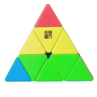 ο κύβος του Ρούμπικ YongJun MoYu Pyraminx 3*3*3 Ομαλή Cube Ταχύτητα Μαγικοί κύβοι παζλ κύβος επαγγελματικό Επίπεδο Ομαλό Πολύχρωμα Δώρο