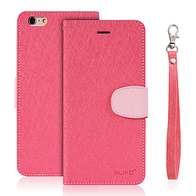 Kılıf Na LG LG K10 LG G5 LG G4 Etui na karty Portfel Z podpórką Flip Pełne etui Jendolity kolor Twarde Skóra PU na