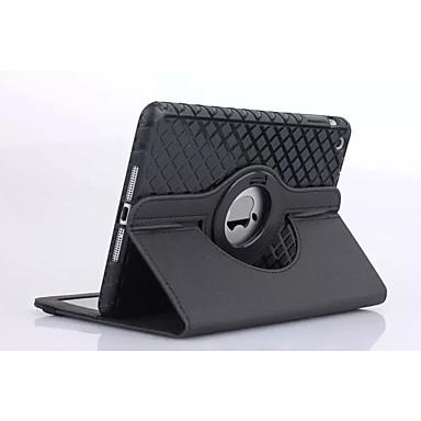 Hülle Für Apple mit Halterung / Origami Ganzkörper-Gehäuse Solide PU-Leder für iPad 4/3/2