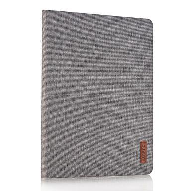 Για με βάση στήριξης tok Πλήρης κάλυψη tok Μονόχρωμη Σκληρή Συνθετικό δέρμα για Apple iPad 4/3/2