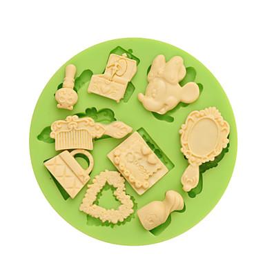 διακοσμώντας Εργαλείο κινούμενα σχέδια σε σχήμα για κέικ για Cupcake για Pie Other για Ice για Σοκολάτα για Cookie σιλικόνηΦιλικό στο
