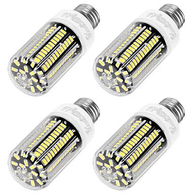 E26/E27 LED-maissilamput T 136 ledit SMD 5733 Koristeltu Lämmin valkoinen 1100lm 3000K AC 220-240V