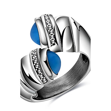 Κρίκοι Πάρτι Καθημερινά Causal Αθλητικά Κοσμήματα Τιτάνιο Ατσάλι Γυναικεία Εντυπωσιακά Δαχτυλίδια Δαχτυλίδι 1pc,6 7 8 9 Όπως στην εικόνα